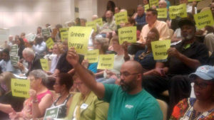Charlotte citizens speak as the city adopts resolutions
