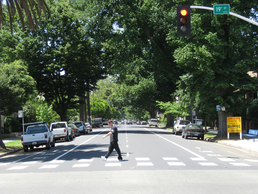 Complete Streets in midtown Sacramento
